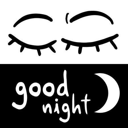 good night: Good night symbol