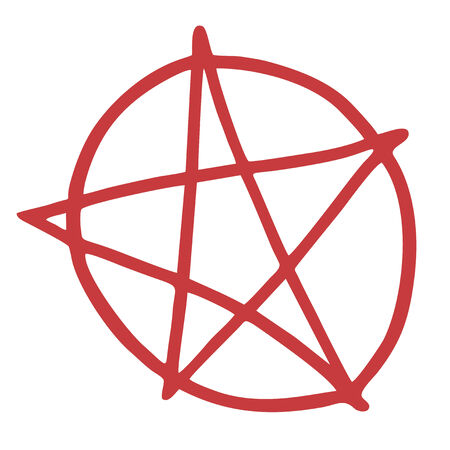 blasphemy: Hell pentagram symbol