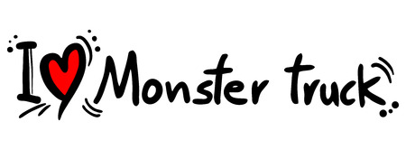 Monster truck symbol