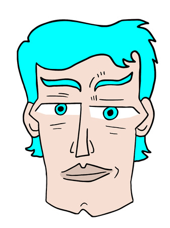 nostrils: imaginative face