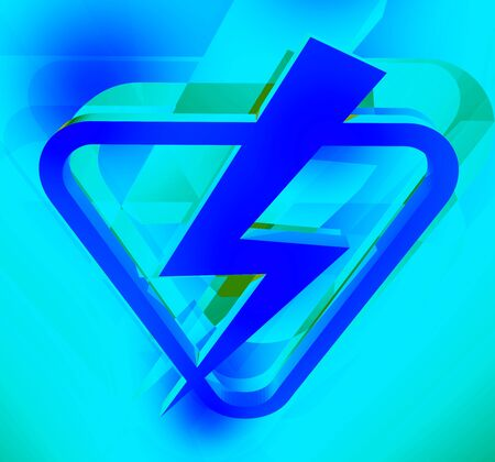 electric power: electric power symbol
