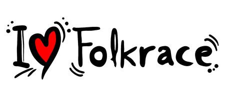 covet: Folkrace love Illustration