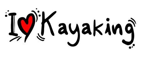 covet: Kayaking love