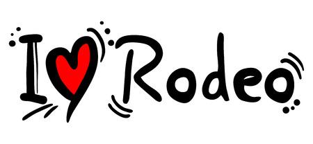 crave: Rodeo love Illustration