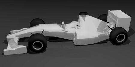 numero: Model racing car