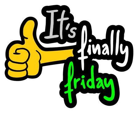 working week: Happy friday