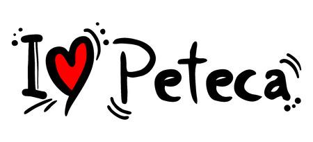 heading the ball: Peteca love