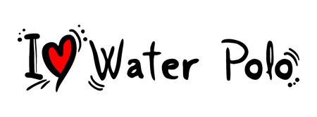 polo: Water polo love Illustration