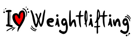 crave: Weightlifting love Illustration