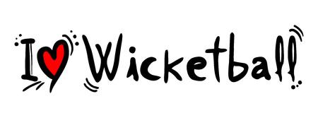 heading the ball: Wicketball love