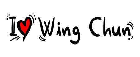 chun: Wing chun love