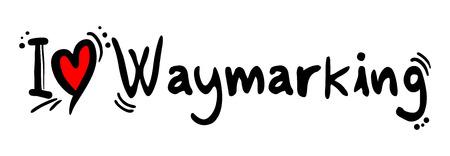 craving: Waymarking love
