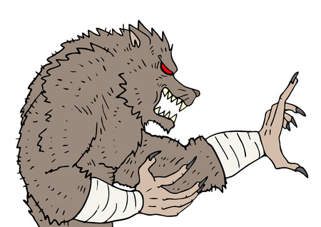 impudent: Monster martial arts Illustration