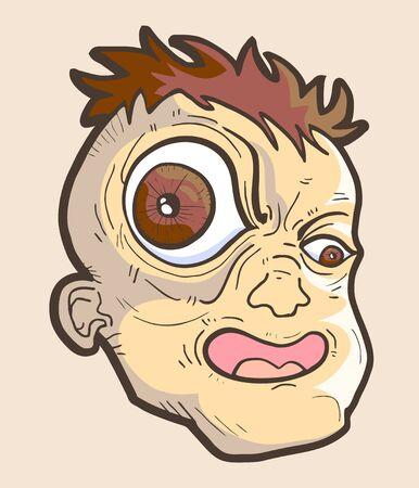 big eye: Big eye Illustration