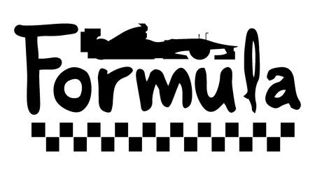 Icon formula 1 Illustration