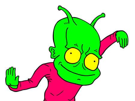funny: Funny alien