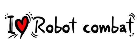craving: Robot combat love
