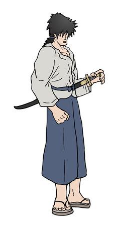 avenger: Samurai warrior