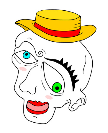 mime: funny mime face