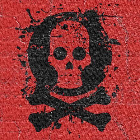 Horror symbol photo