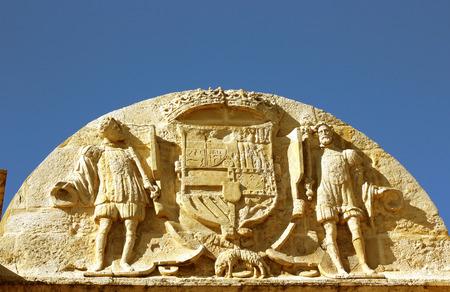 rundale: stone decoration Stock Photo