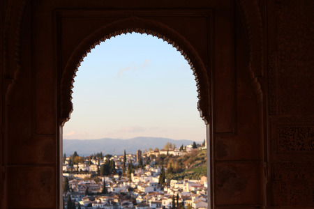 spanish ethnicity: Alhambra window