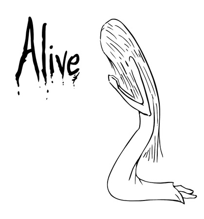 alive: Alive cartoon