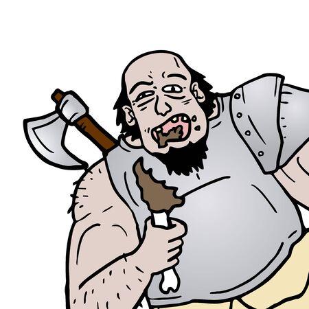 barbarian: Eat barbarian