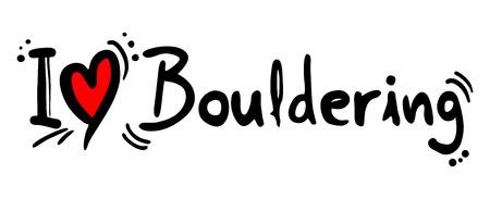 bouldering: Bouldering love