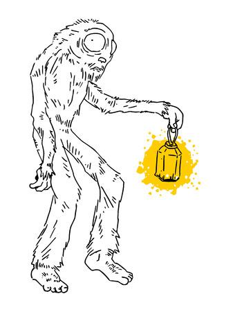 needy: Monster lamp