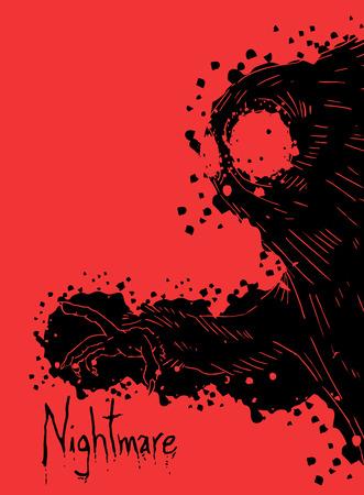 nightmare: Dark nightmare creature