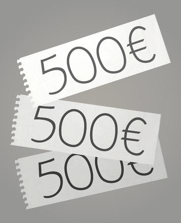 hundred dollar bill: Draw bills Illustration