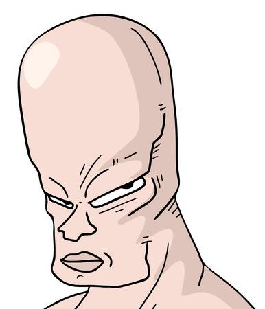 bald man: Bald man