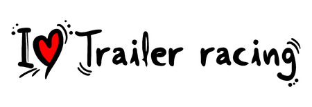crave: Trailer racing love Illustration