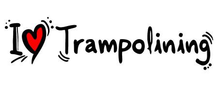 covet: Trampolining love