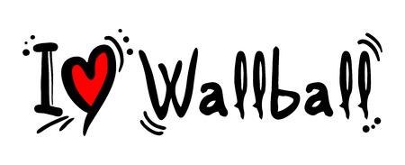 shot put: Wallball love