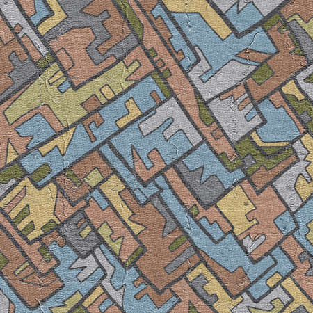 Art mosaic Stock Photo