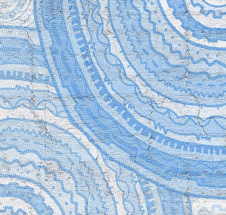 original circular abstract: Blue background design