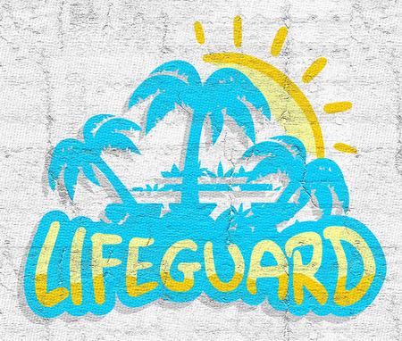 lifeguard: Lifeguard beach