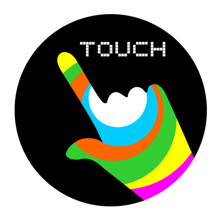 touch: art touch button