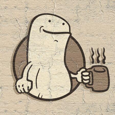 show window: Emblem coffee