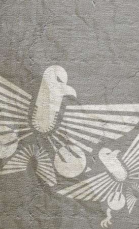 Eagle paper photo