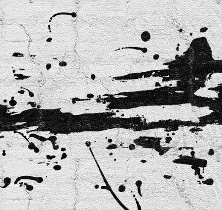 balck: Art balck ink Stock Photo