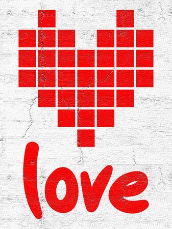 original single: Pixel love
