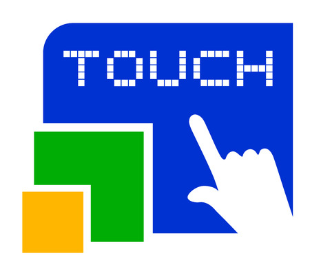 Touch symbol Vector