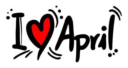4월: April love