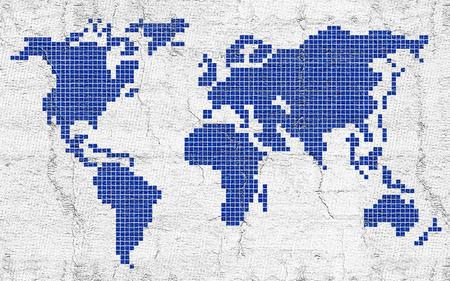 創造的な世界地図
