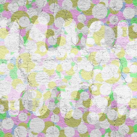 original circular abstract: Spring background