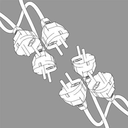 plug in: Plug in vector design