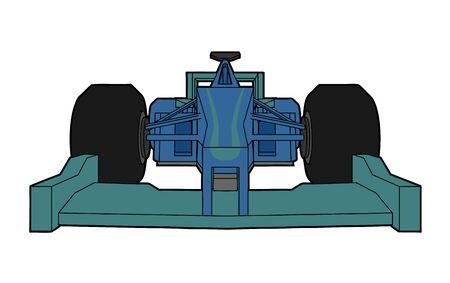 racecar: racing vector car